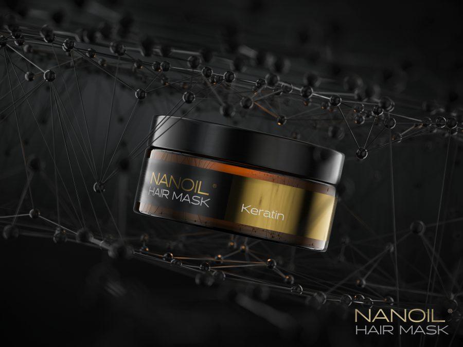 Nanoil keratiinihiusnaamio